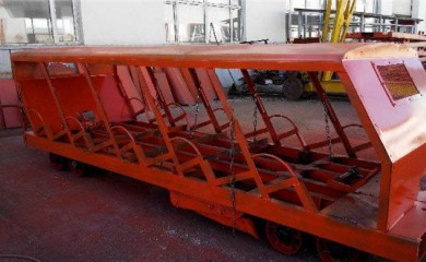 XRB15-6/6抱轨式人车材质好矿车生产定做