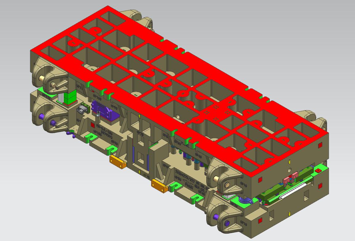 铸铁模具结构设计
