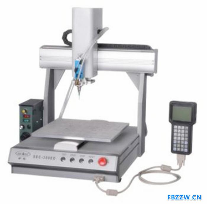 深隆ST-DJ10004自动点胶机 自动精密点胶机 在线式点胶机器人 唐山自动化点胶系统解决方案 非标订制点胶机