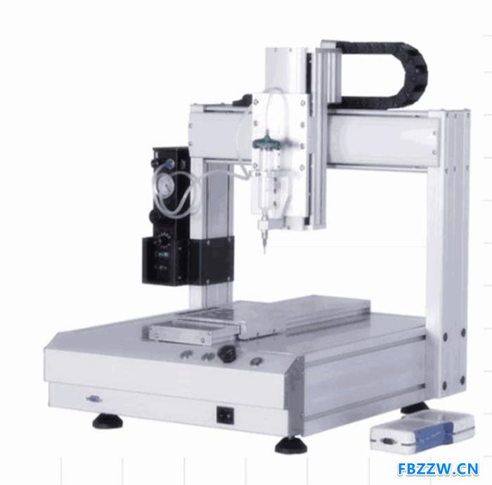 深隆ST-DJ10005自动点胶机 全自动点胶机 高精度全自动点胶机 天津自动化点胶机器人定制设计 非标定制点胶机器人