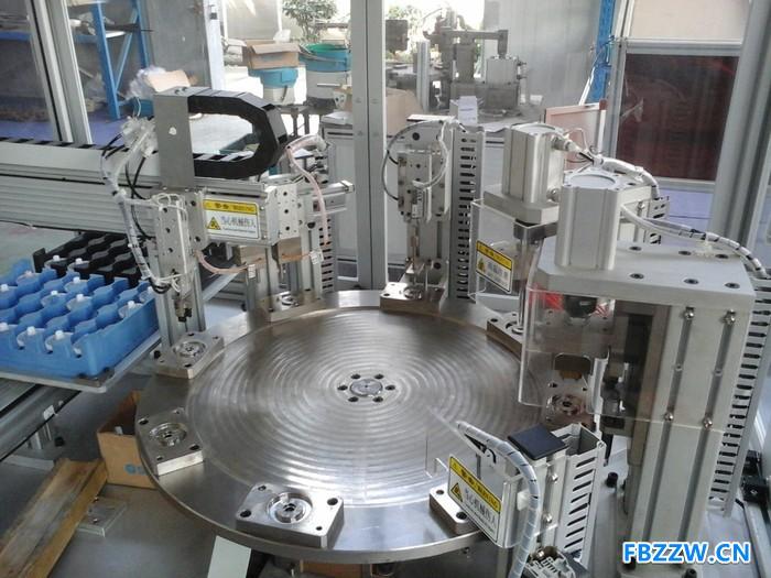 宁波普瑞森综合多工位齿轮弹片热铆、弹力测试设备