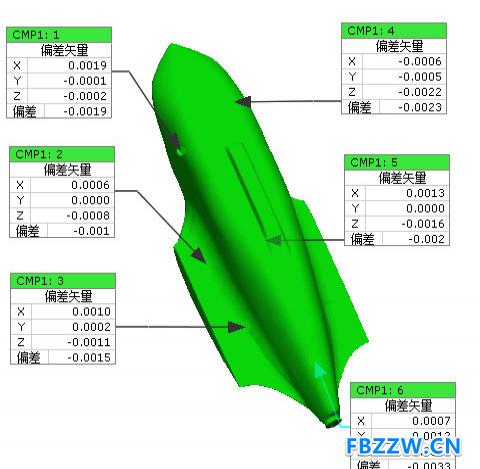便携式蓝光3D工业扫描仪   模具设计