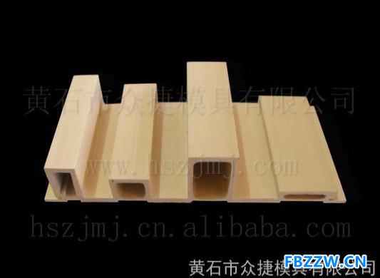 供应挤出模具 PVC木塑挤出模具  异型墙板 黄石众捷专业模具设计制造 0714-6367066