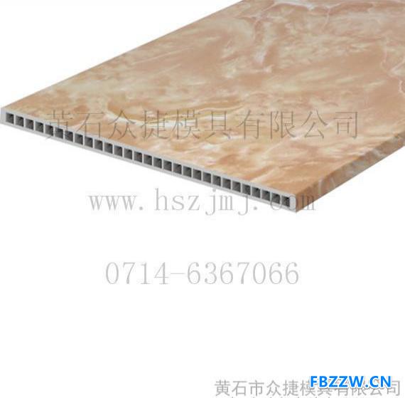钙塑模具 钙塑地板挤出模具 黄石众捷专业模具设计制造0714-6367066