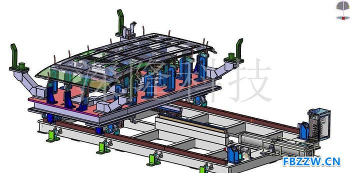 深隆ST-GZ9108 自动化工装夹具 非标定制 北京深隆 自动化工装夹具  非标定制 北京 工装夹具