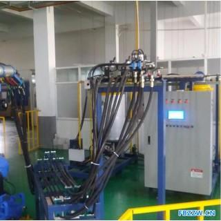 工厂定制非标聚氨酯发泡自动化生产线 机器人自动发泡生产线 发泡设备