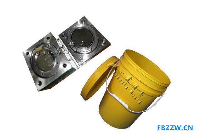 制造塑料模具公司 16L八角密封桶模具 八角圆形机油桶模具制造