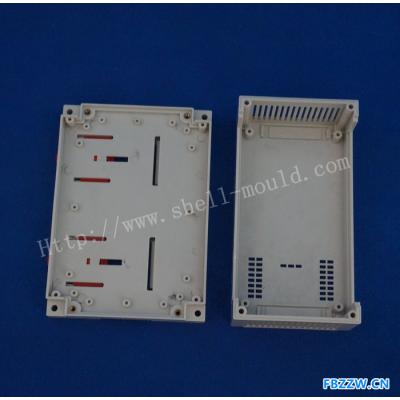 精钢壳体厂新料生产PLC控制器 仪表外壳 塑料壳体 155x110x60