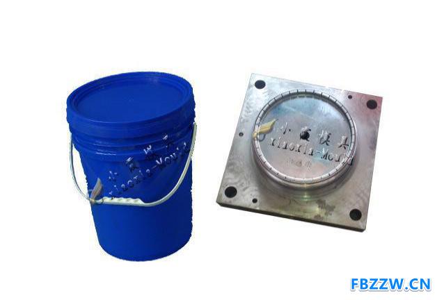制造注塑模具公司 13L八角密封包装桶模具 涂料桶八角模具厂地址