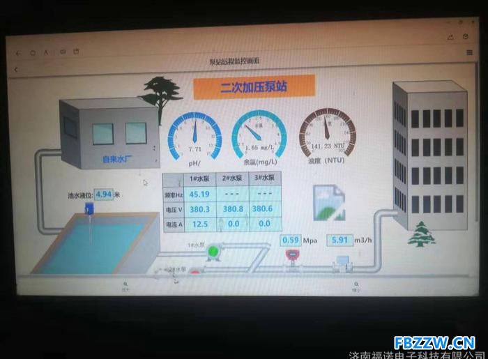 恒压供水控制柜 配电柜 PLC控制柜