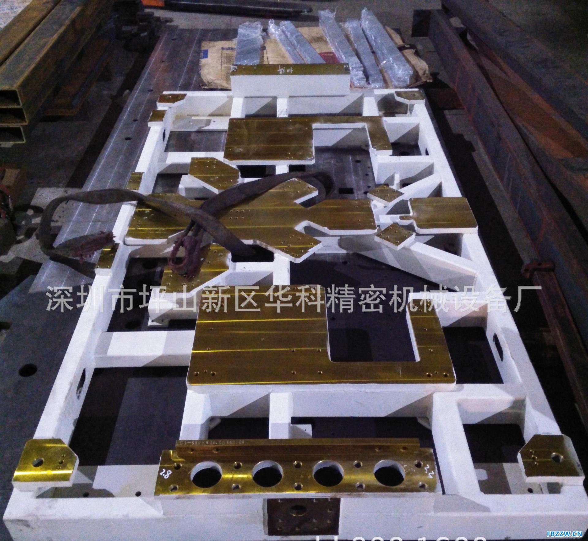 大型CNC数控龙门机加工