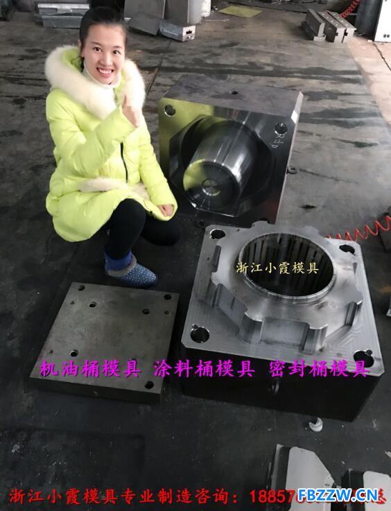 做润滑油桶模具 (2)