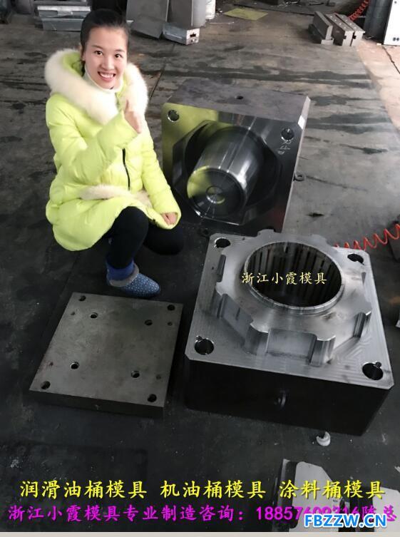 做润滑油桶模具 (1)