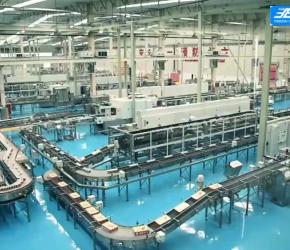 红牛易拉罐生产全过程,超牛全自动化流水线